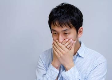 口臭も逆流性食道炎が原因?