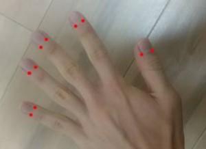 自律神経に効果のある指のツボ