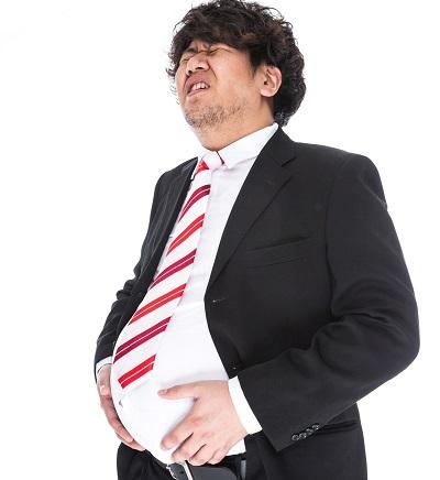 肥満で逆流性食道炎